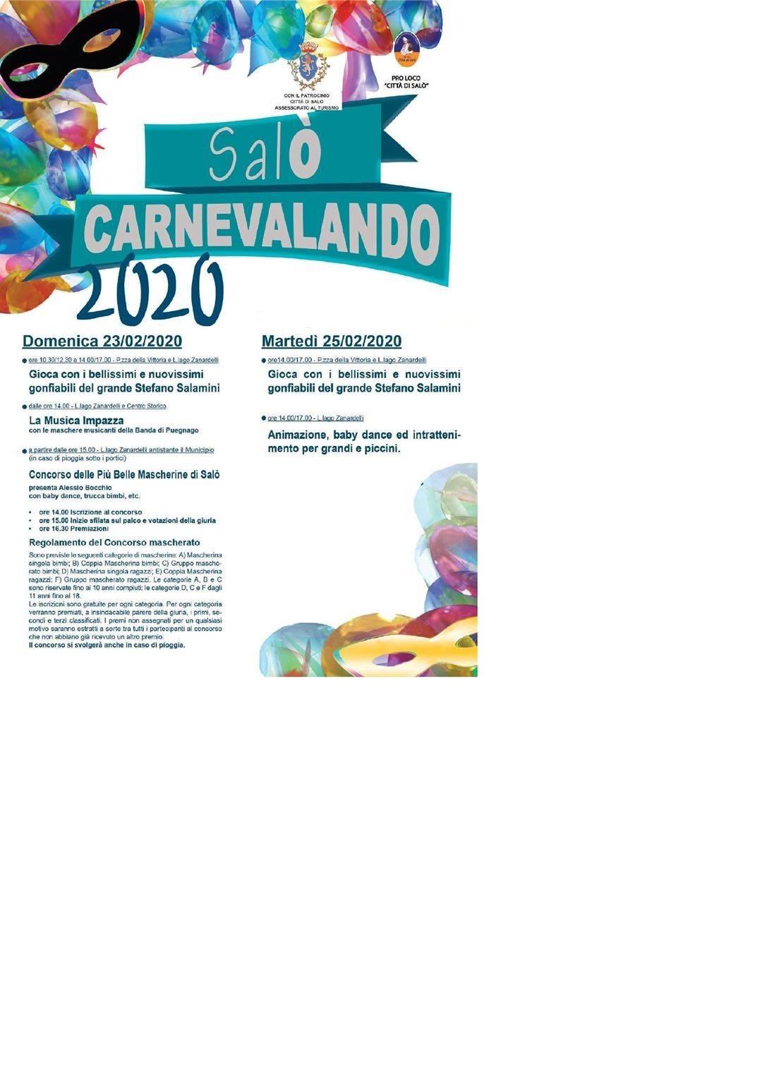Carnevalando 2020