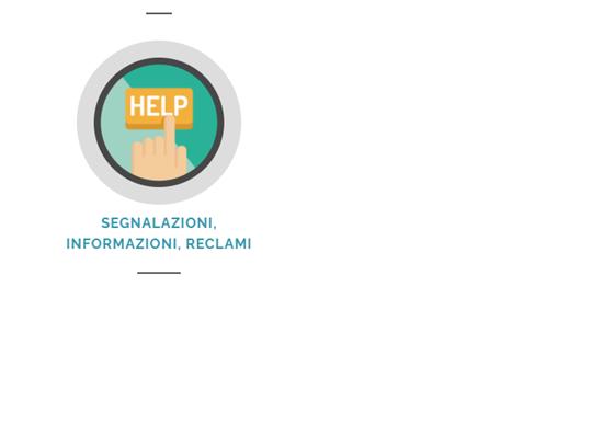 Segnalazioni, informazioni e reclami Garda Uno