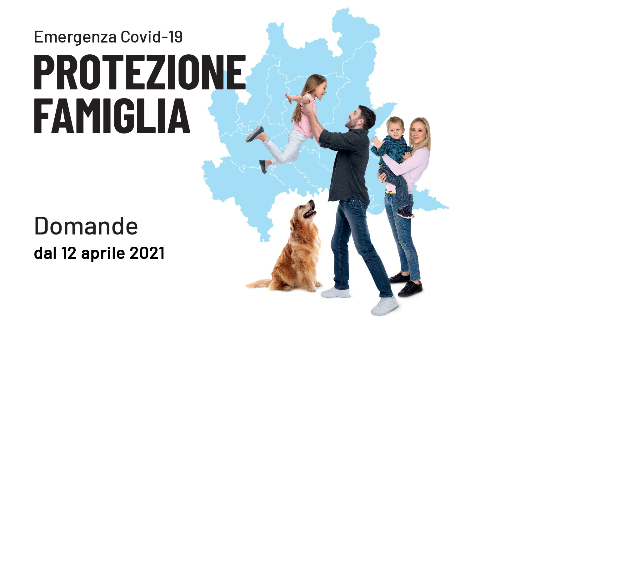 Protezione famiglia - Contributo (500€) per le famiglie
